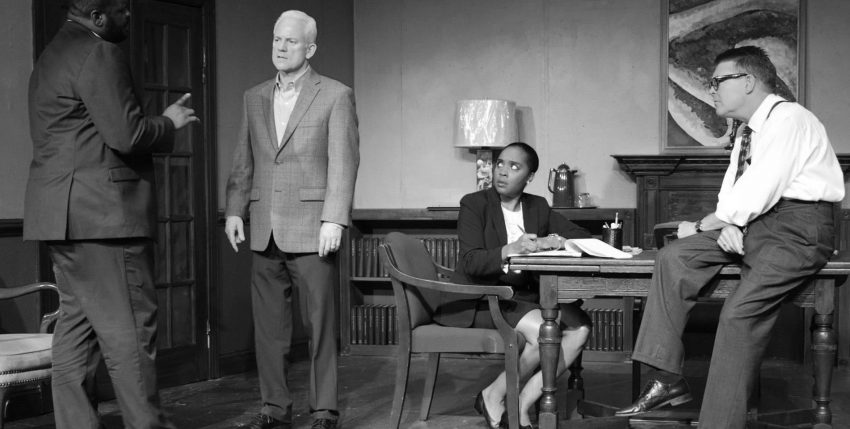 A compelling, suspenseful drama, 'Race,' on Hill stage