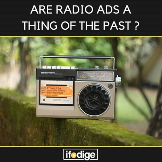 Radio – A thing of the past right?