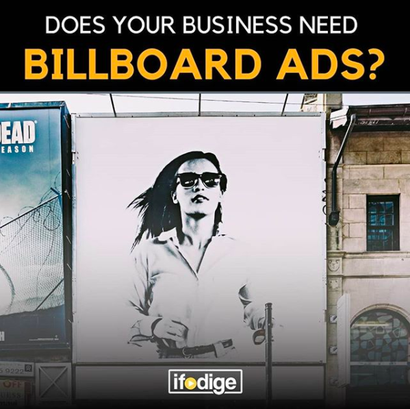 Top 20 business categories for billboard ads