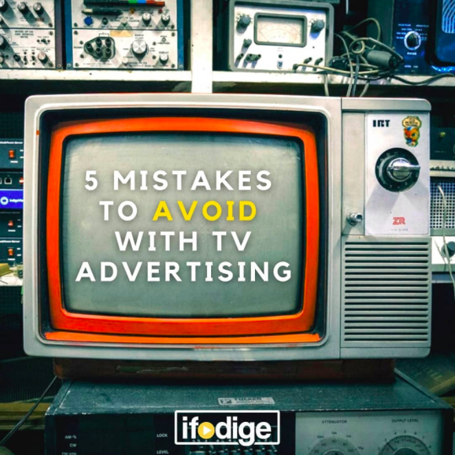 TV Advertising Don'ts