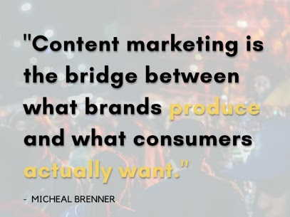 CONTENT MARKETING IS A MAJOR KEY…