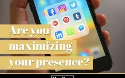 MAXIMIZE YOUR ONLINE PRESENCE